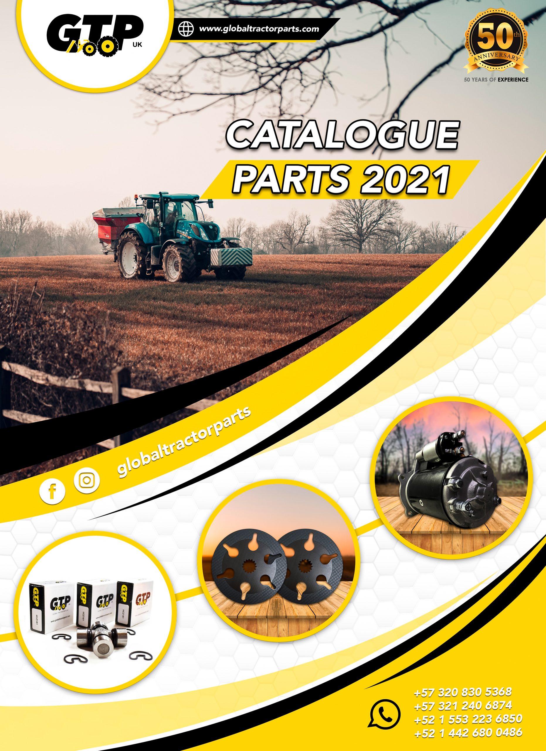 GTP repuestos para maquinaria agricola