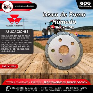 Disco de Freno Húmedo - 1860964M2