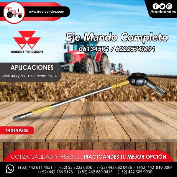 Eje de Mando Completo - 061345R1 - 6222574M91