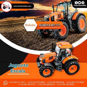 Juguete a escala Tractor Kubota M7-171