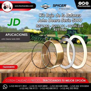 Kit Buje de la Balanza John Deere Serie 5000 - R271462 - R271461 - 00105.333 - R271460