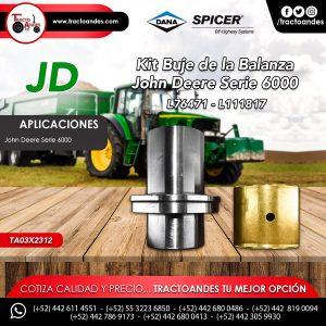 Kit Buje de la Balanza John Deere Serie 6000 - L76471 - L111817