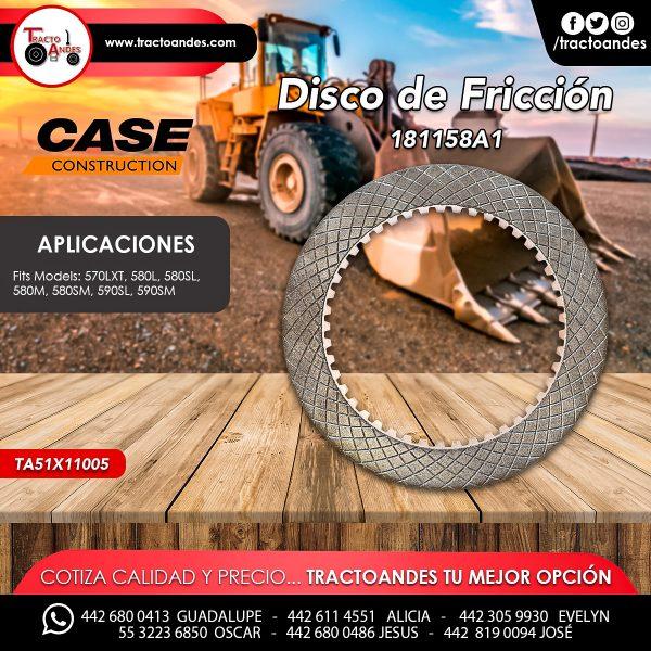 Disco de Fricción - 181158A1