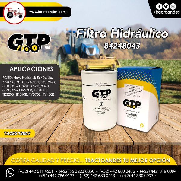 Filtro Hidráulico - 84248043