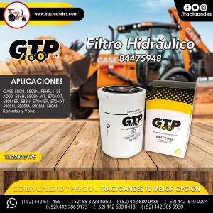 Filtro Hidráulico - 84475948