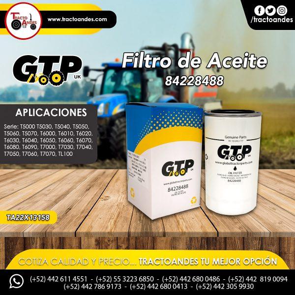 Filtro de Aceite - 84228488