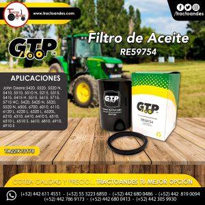 Filtro de Aceite - RE59754