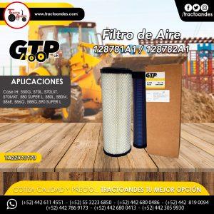 Filtro de Aire - 128781A1 - 128782A1