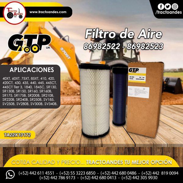 Filtro de Aire - 86982522 - 86982523