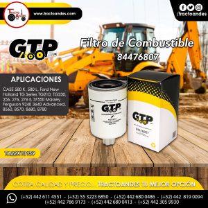 Filtro de Combustible - 84476807