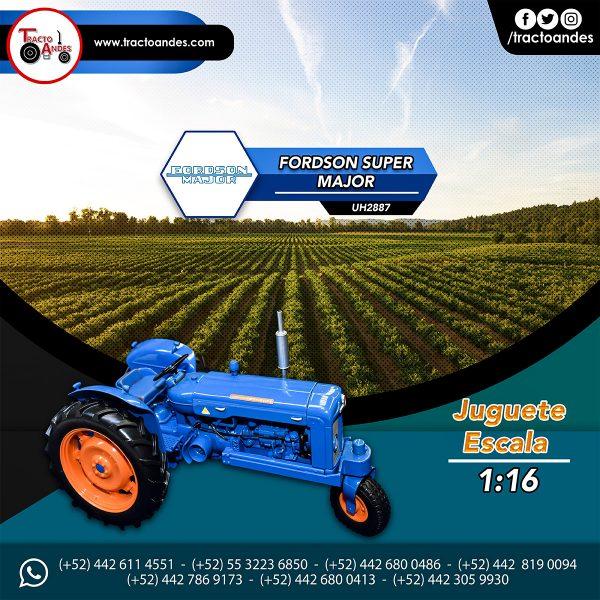 Juguete a Escala Tractor Fordson Super Major UH2887