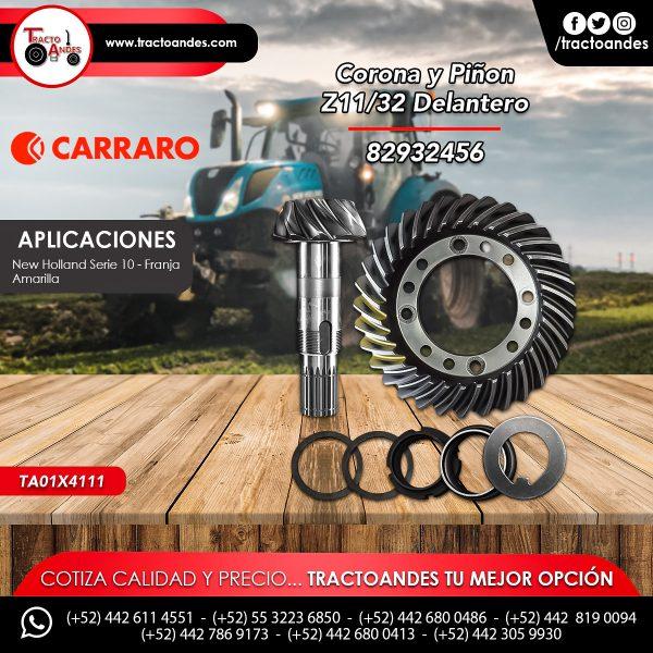 Corona y Piñon Z1132 Delantero - 82932456