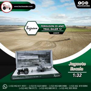 Juguete a escala Ferguson 35 and Trail Baler 12 - UH5379