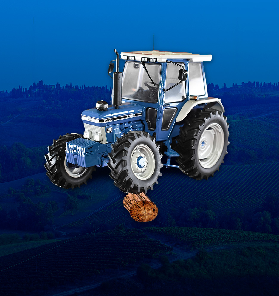 Tractor Ford a escala