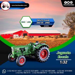 Juguete a escala Deutz Fahr D60 05 - 2WD - UH4994