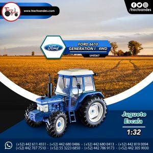 Juguete a escala Ford 6610 Generation l 4WD - UH5367