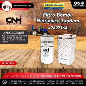 Filtro Bomba Hidráulica Tandem - 47427164