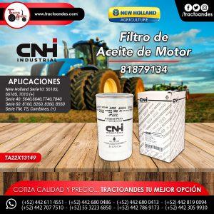Filtro de Aceite de Motor - 81879134