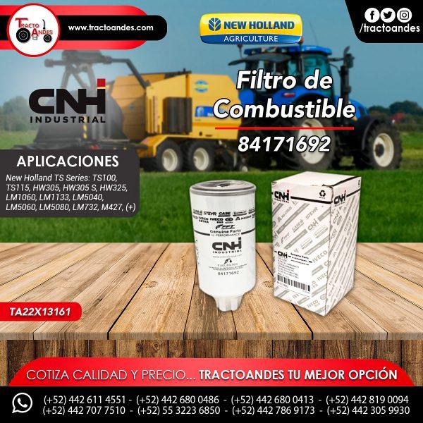 Filtro de Combustible - 84171692