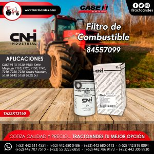 Filtro de Combustible - 84557099
