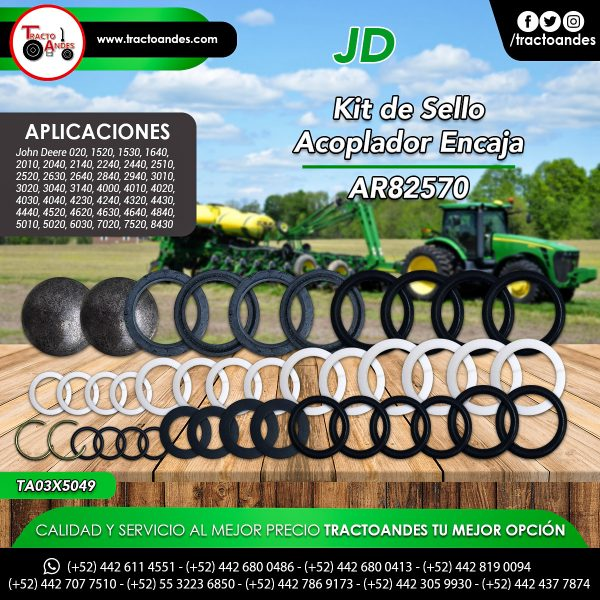 Kit de Sello Acoplador Encaja - AR82570