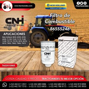 Filtro de Combustible - 86555246