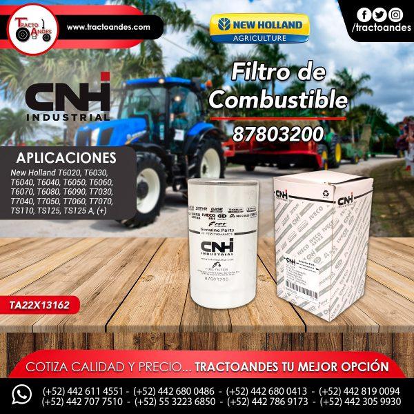 Filtro de Combustible -87803200
